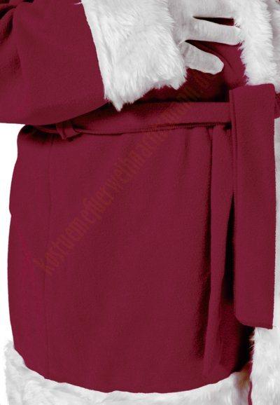 weihnachtsmann kost m violett jacke hose und m tze. Black Bedroom Furniture Sets. Home Design Ideas