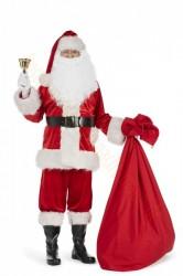 Weihnachtsmann Kostüm Super Deluxe Nikolaus Weihnachtsmannkostüm Santa Claus