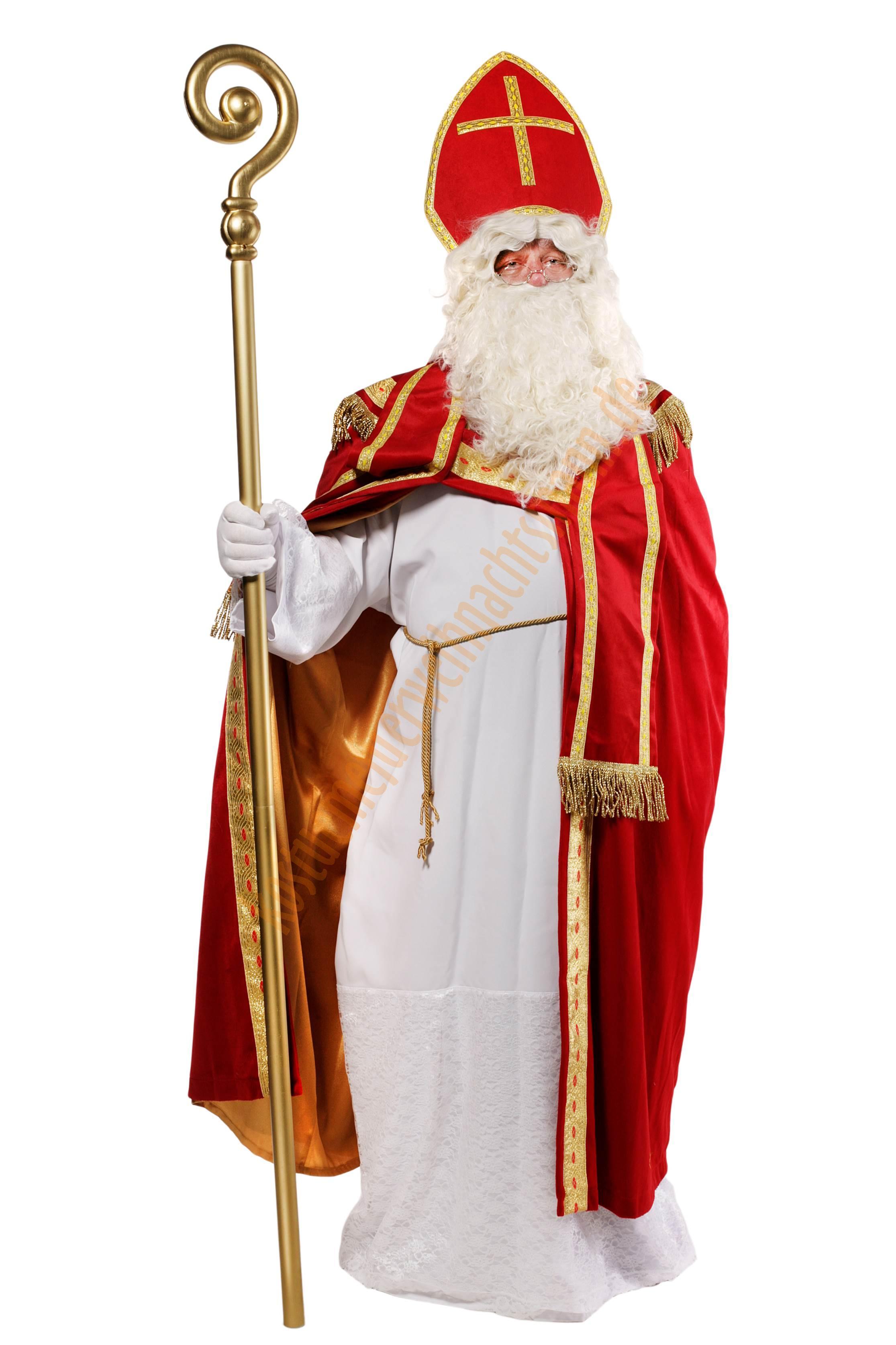 Bischof Nikolaus Kostüm Sankt Nikolaus Kleidung